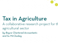 Tax in Agriculture